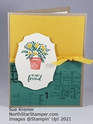 Stampin up welcoming window north star stamper