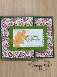 Patterned gift card copy