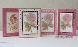 2021 summer rococo rose cards