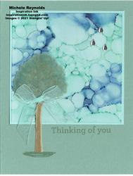 Beauty of friendship rainy day tree thoughts watermark