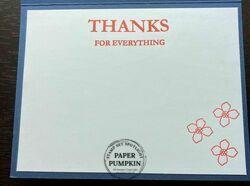 Paper pumpkin card 2 inside