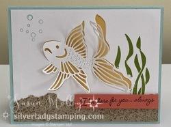 Fishbowl fish card