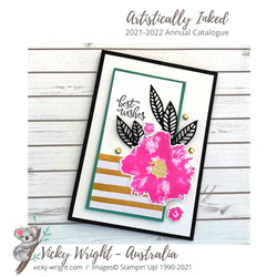 Vicky wright stampin up artistically inked 1