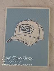 Stampin up hats off carolpaynestamps1