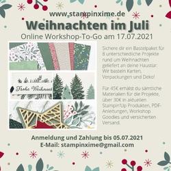 Weihnachten im juli onine workshop 2