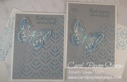 Stampin up butterfly brilliance balmy blue carolpaynestamps4