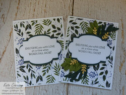 Inspired thoughts stitched so sweetly pair
