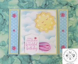 Fun fold birthday card  2
