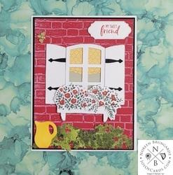 Welcoming window card  2