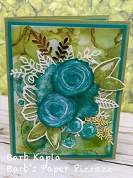 Class card july 13  2021 abstract flowers