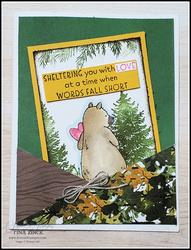 Count me in stampin up tina zinck fun fold card