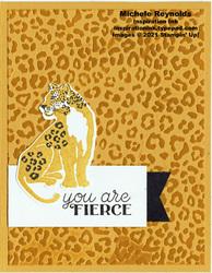 Wild cats fierce jaguar watermark
