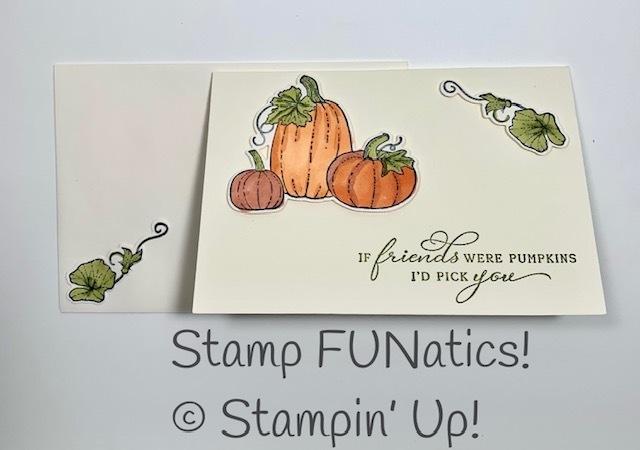 Pretty pumpkins note