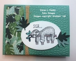 Sloth get well card