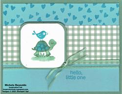Turtle friends welcoming hearts watermark