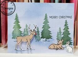 Peaceful deer 2