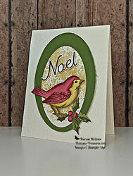Stampin up happy holly days noel christmas card tilt r wm