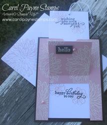 Stampin up delicate dahlias pop up slider carolpaynestamps4