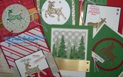 Peaceful deer 6 cards
