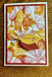 Love of leaves notecard aug 2021