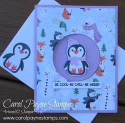 Stampin up penguin place carolpaynestamps1
