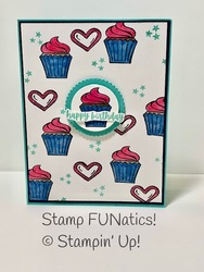Swseets   treats birthday card