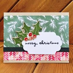 Holly christmas fromwhereistamp