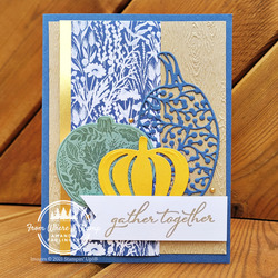 Harvest pumpkin thanksgiving fromwhereistamp