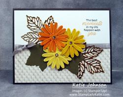Gorgeous leaves card 1 full
