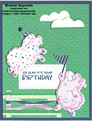 Counting sheep party paper birthday watermark