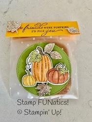 Fall cookie bag