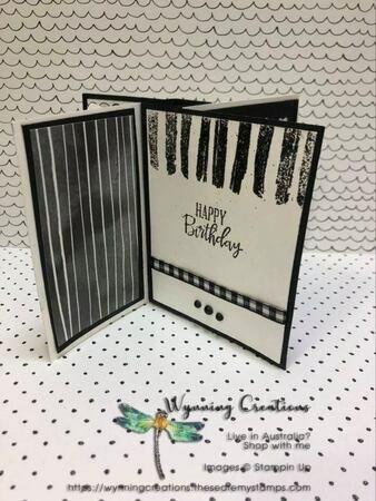 Monochromatic pinwheel tower card