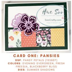 Card 1 pansies