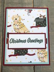 Sweet stockings dsp christmas card