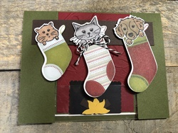 Sweet stockings spanner card