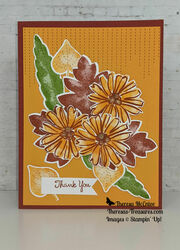 Stampin up lots of love color   contour thank you fall straight wm