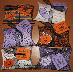Cutest halloween treat yourself pillow boxes