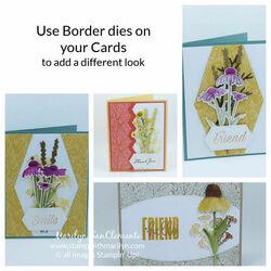 border dies cards