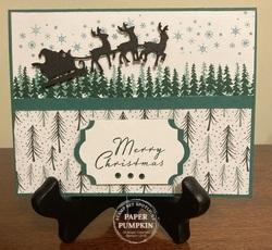 Peaceful christmas october 2021   santa s sleigh