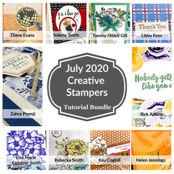 Creative stampers july tutorial bundle image