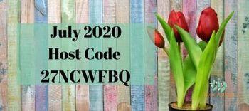 July 2020 host code