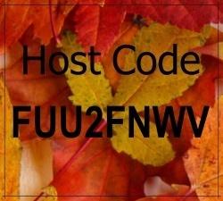 Fall host code