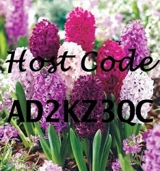 Hyacinths with code