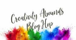 Creativity abounds blog hop banner