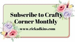 Crafty corner monthly graphic