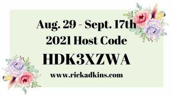 Aug 29 till sept 17  host code  graphic