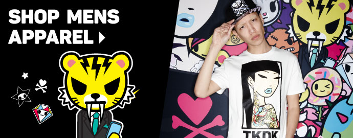 tokidoki & TKDK Mens Apparel