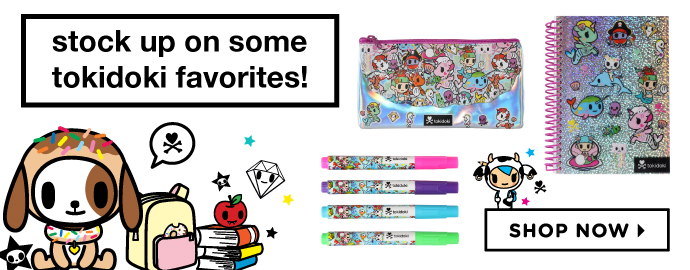 tokidoki Novelty items!