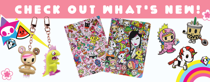 tokidoki stationery, homeware, patches, puzzles and more!