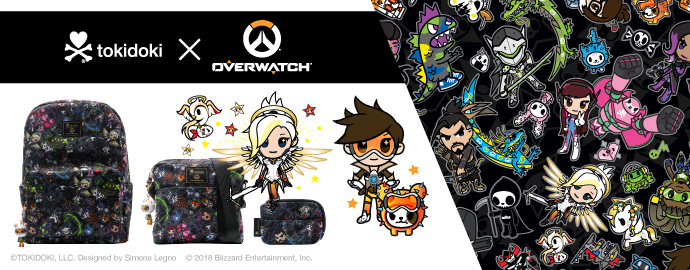 tokidoki x Overwatch Collection!